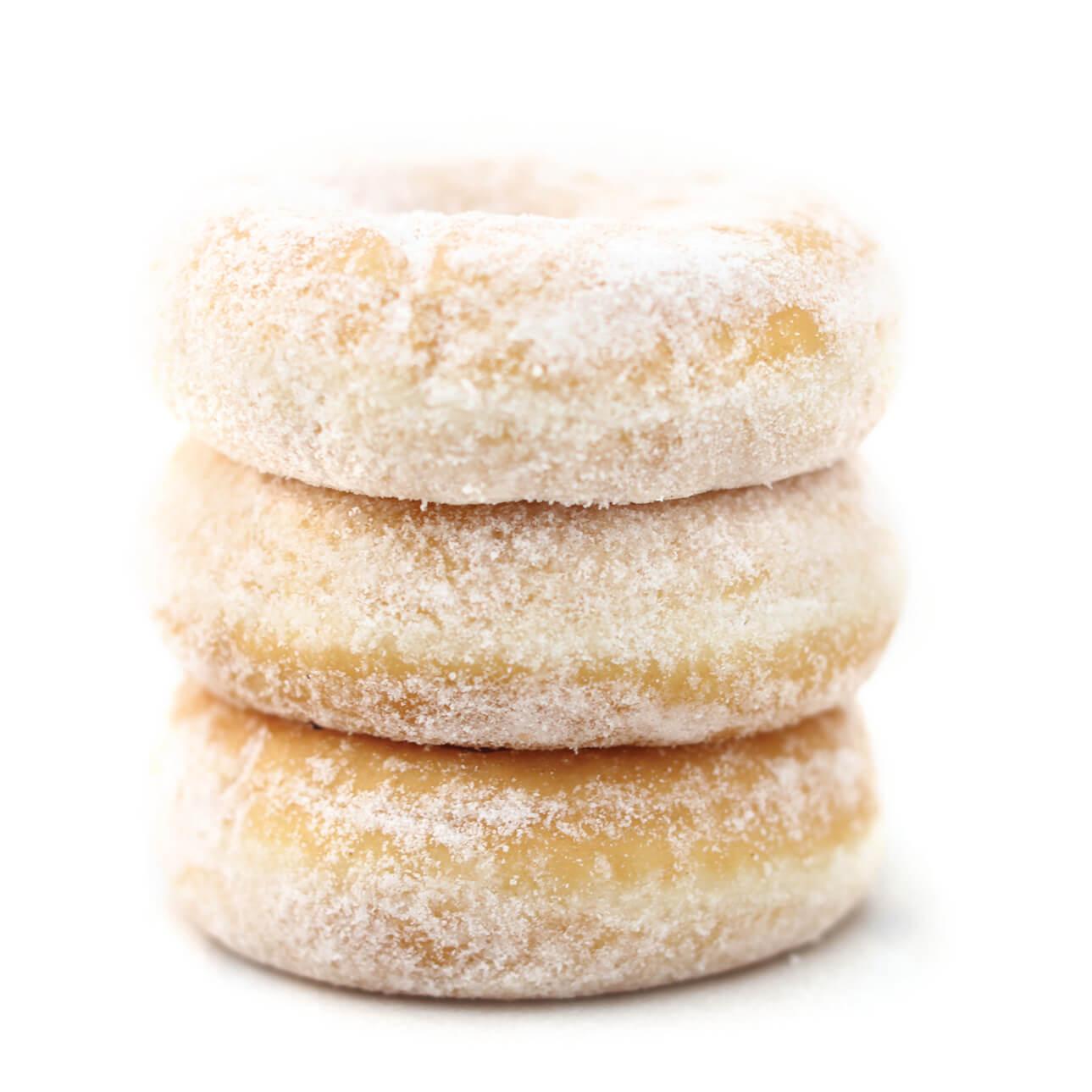 Mini Zucker Donuts