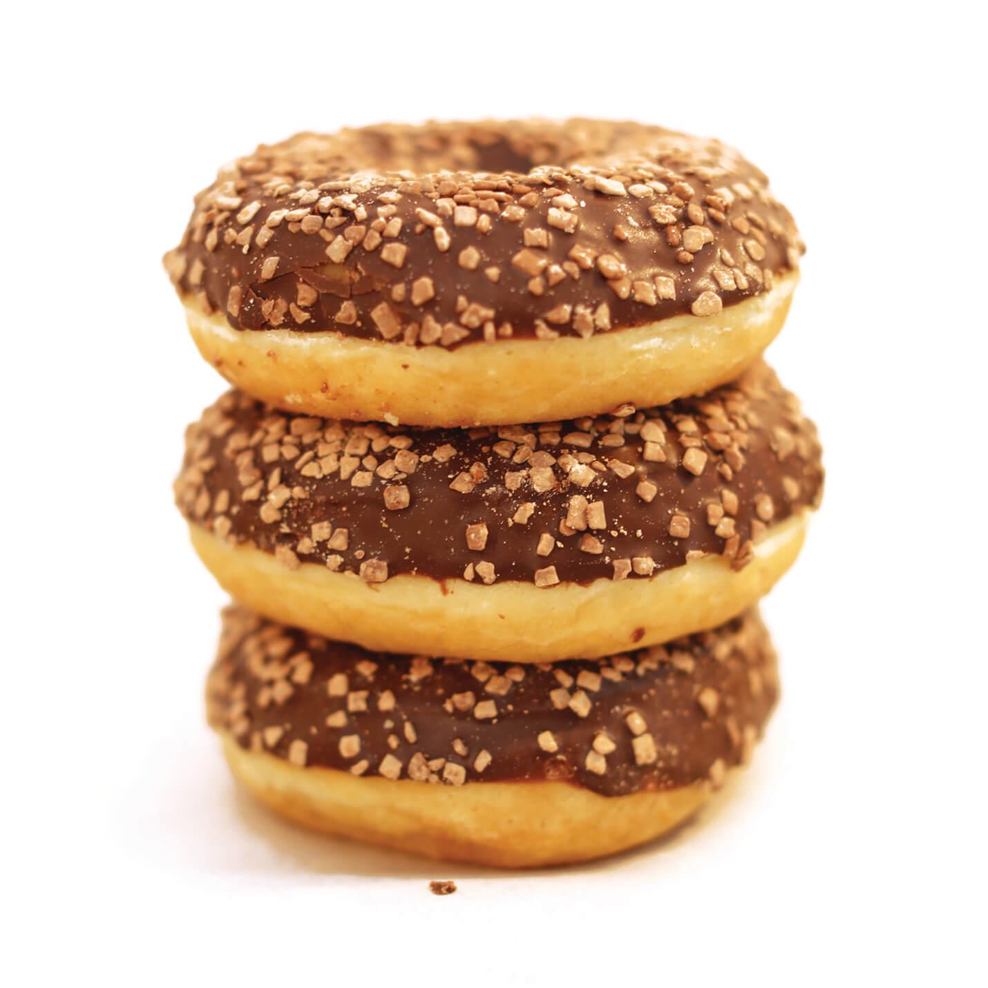 Mini Schokolade Donuts