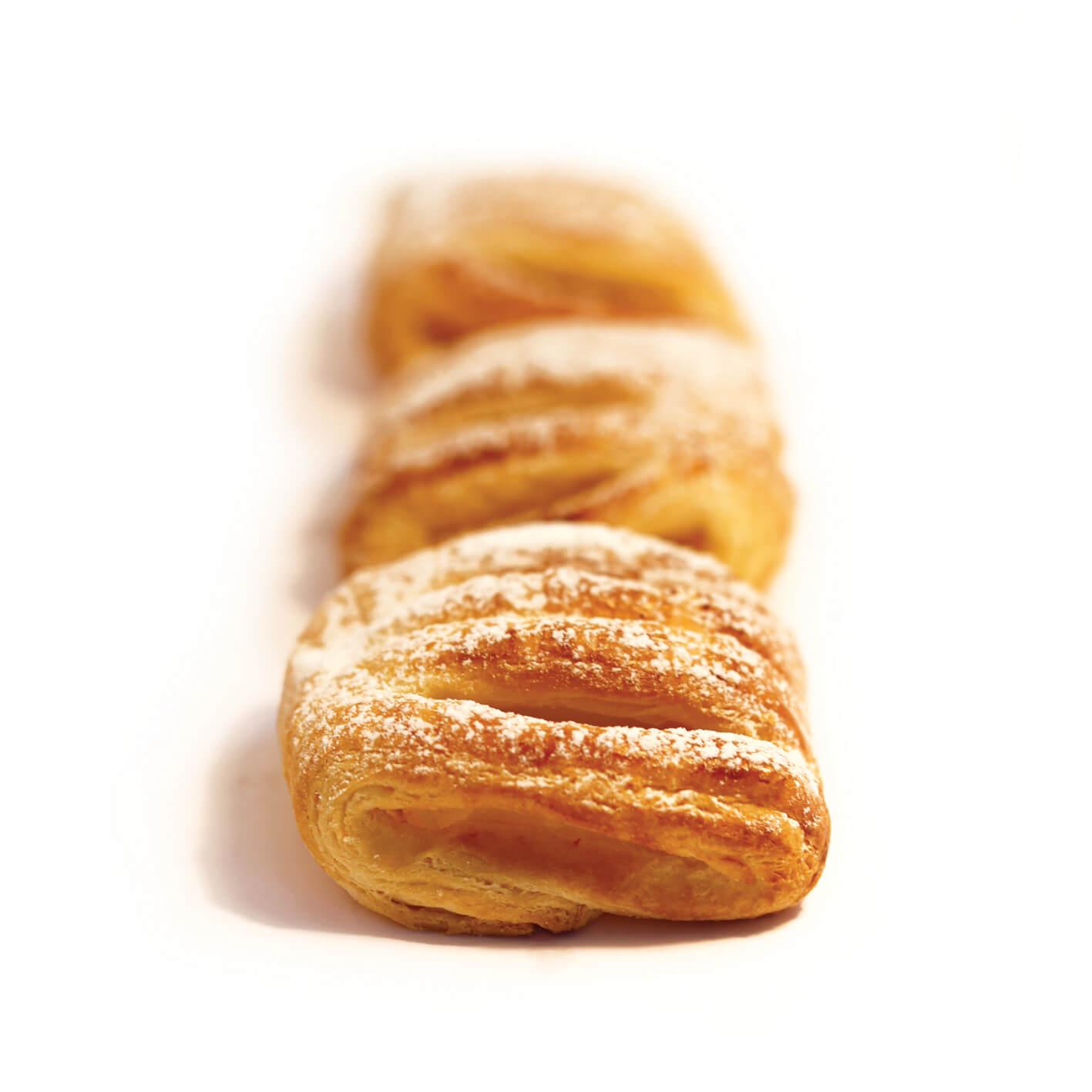Mini Cream Croissant (croissant pastry)