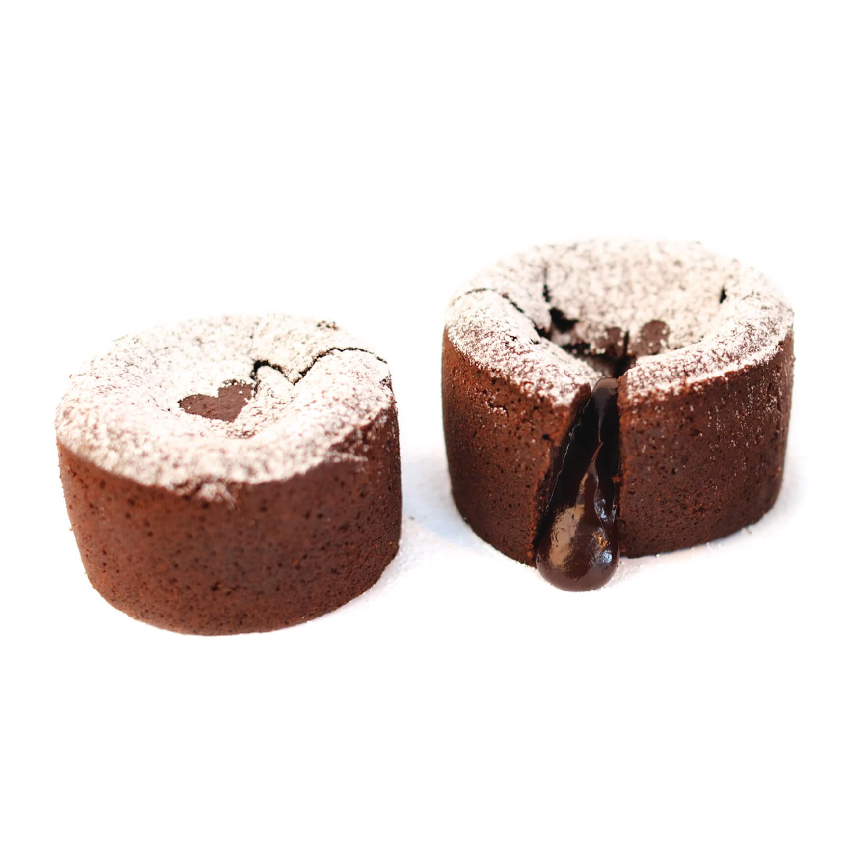 Schokoladensouffle (eizelportion)