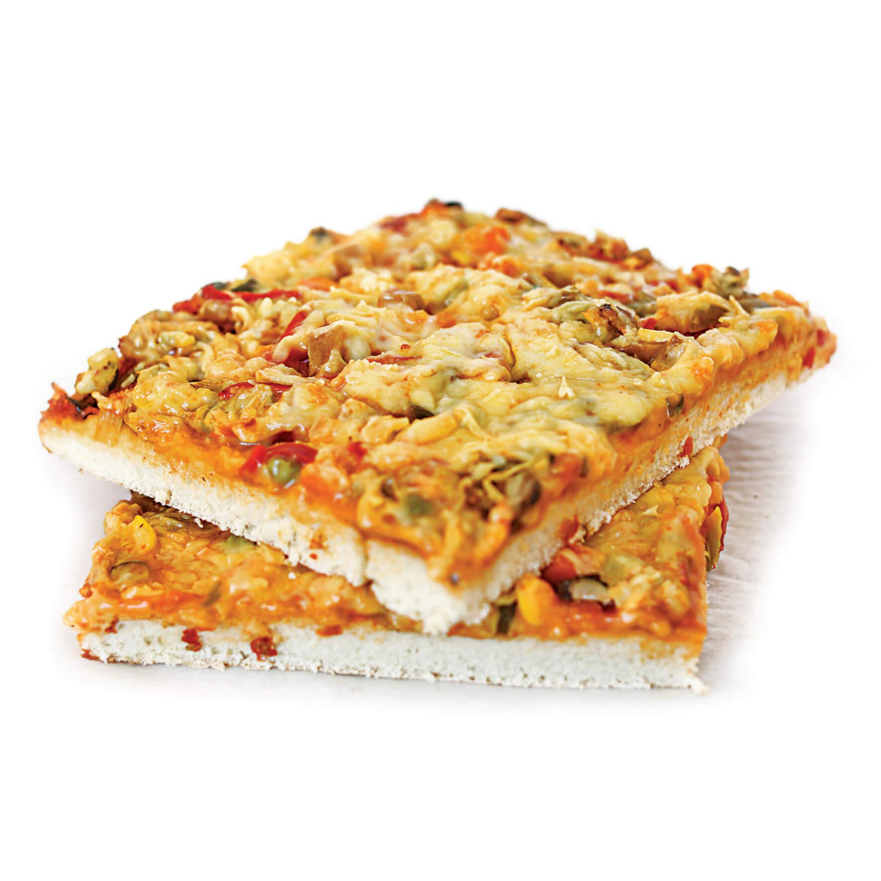 Πίτσα Λαχανικών Vegan